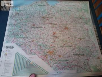 mapa kartograficzna samochodowa plansze duże