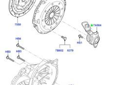 SPRZĘGŁO ZESTAW 2.0 DIESEL KUGA 08-12 FOCUS MK2 05-11 Ford Focus C-MAX