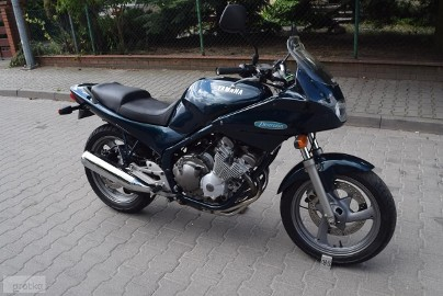 Yamaha XJ 600 Diversion oryginalny stan, silnik bajka, dok. na km z DE