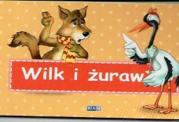 Wilk i żuraw. Bajki Ezopa Julia Konkołowicz-Pniewska  Warszawa