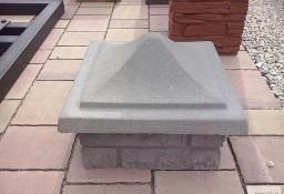 Daszek gruby na słupek z kamienia łupanego 34x34