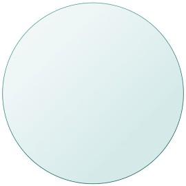 vidaXL Blat stołu szklany, okrągły 500 mm 243626