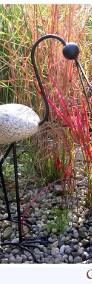 Ptak BOCIAN DUŻY, rzeźba, ozdoba ogrodowa, kamień-3