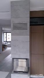 Obudowy kominkowe z betonu architektonicznego Kominki w betonie Luxum