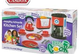Czajnik Toster Ekspres Naczynia dla dzieci zestaw do kuchni AGD CASDON