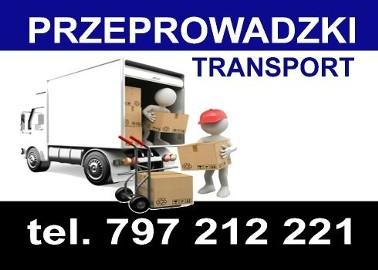Przeprowadzki/Transport/Przewóz rzeczy/Bus/Przeprowadzka