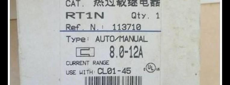 Przekaźnik termobimetalowy RT1N ; 8.0-12A-1