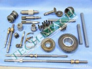 Części zamienne, koła, wałki,śruby do tokarki CU400, CU500