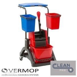 Kompletny Wózek Serwisowy do sprzątania VERMOP Mistral Kompakt!