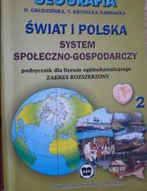 Geografia. Świat i Polska. System społ.-gosp. podręcznik dla liceum og