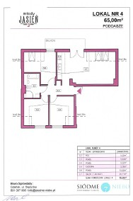 Mieszkanie 65 m2, nowe osiedle, kameralna zabudowa-2
