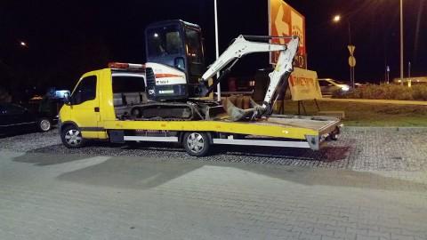 Transport minikoparek Siennica 510 034 399 faktury VAT