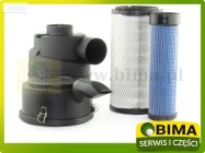Kompletny filtr powietrza wew i zew z obudo New Holland TN95A, T5040