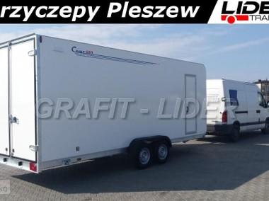 TP-036 TFS 600T.00, 600x200x220, furgon izolowany, sandwich, drzwi 2 skrzydłowe, DMC 3000kg-1