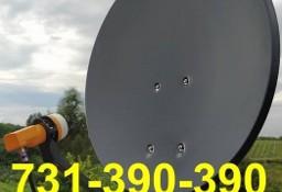 Masłomiąca Montaż Serwis Anten Satelitarnych CANAL+, NC+, CYFROWY POLSAT DVB-T