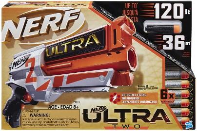 Blaster Wyrzutnia NERF ULTRA TWO Pistolet 6 Pocisków