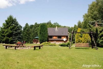Dom nad jeziorem-Ińsko-Wierzchucice.