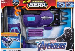 Czarna Pantera Avengers Nerf ASSEMBLER GEAR Rękawica Wyrzutnia