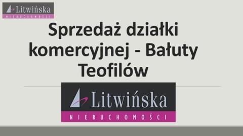 Działka inwestycyjna Łódź Bałuty