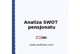 Analiza SWOT pensjonatu