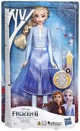 Świecąca Lalka Elsa Frozen 2 Kraina Lodu Magiczna Podświetlana
