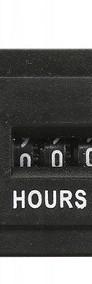Licznik godzin, kwarcowy AC 100-250V , 99999.9 hours-4