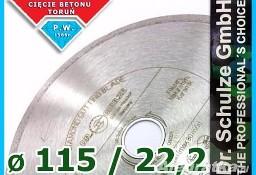 Tarcza diamentowa FL-S fi 115 / 22.2 Glazura Kamień Gres Walentyński