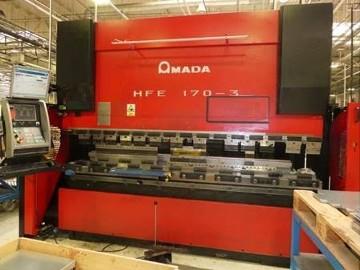 Prasa krawędziowa Amada HFE 170 ton x 3000mm, CNC 8 osi!!!