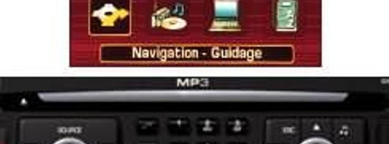 Citroen C4 Picasso RT3 Nawigacja aktualizacja - B58 11/2006 - 6/2007-1