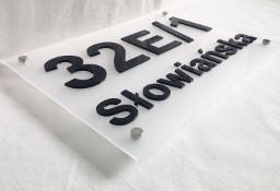 Numer na dom 3D, tabliczka adresowa 30x25cm - wysyłka kurierem