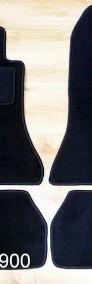 Mercedes E Klasse W 124 CABRIO od 1985 najwyższej jakości dywaniki samochodowe z grubego weluru z gumą od spodu, dedykowane Mercedes-Benz 124-4