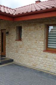 Kamień  ścienny na elewacje dom zewnętrzny do czerwonego dachu -2