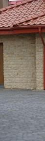 Kamień  ścienny na elewacje dom zewnętrzny do czerwonego dachu -3