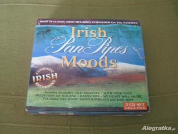 Płyty CD - 3szt. - Irish Moods - Pan Pipes