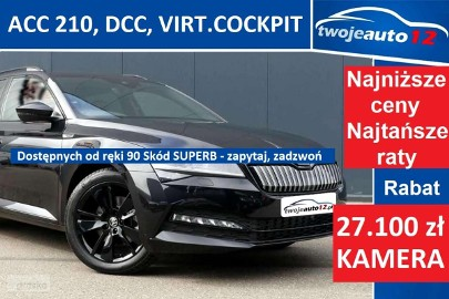 Skoda Superb III Sportline Combi 2,0 TDI 190 KM DSG 4x4 Bogaty !