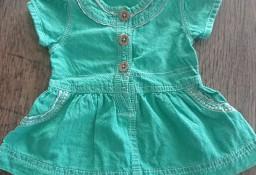 Sukienka zielona George 50 cm