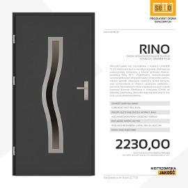 Drzwi wejściowe stalowe SETTO model RINO PLUS