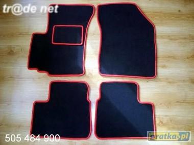 Fiat Sedici 2006r. najwyższej jakości dywaniki samochodowe z grubego weluru z gumą od spodu, dedykowane Fiat Sedici-1
