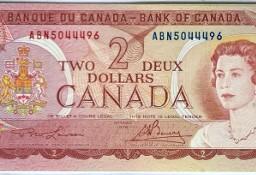 KANADA 1974 ,2 dolary P86a-AUNC! GRATIS WYSYŁKA!