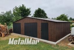 Garaż hala dwustanowiskowy brama drzwi profil kratownica