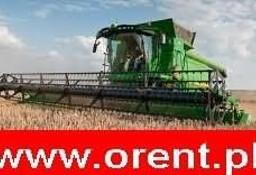 Kurs na kombajny zbożowe uprawnienia kombajnisty www.orent.pl