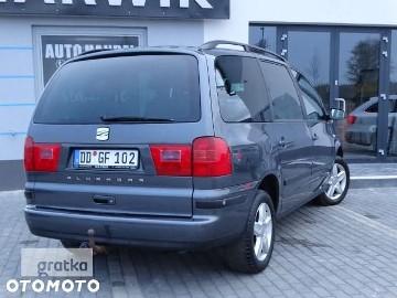 SEAT Alhambra I 2.0/8v Tdi 140Ps 7 Osobowa PDCx2 HAK Klimatronik Sprowadzona