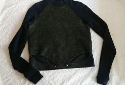 Bluza z łączonych materiałów  S  H&M