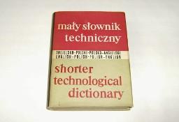 Mały słownik techniczny angielsko-polski i polsko-angielski 1966