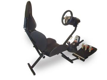 FOTEL DO GIER z regulacją adaptacyjną > składany stand pod kierownice