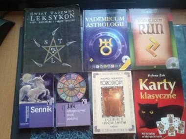 Tarot, runy, horoskop, magia, znaki zodiaku, sennik) książki i karty -1