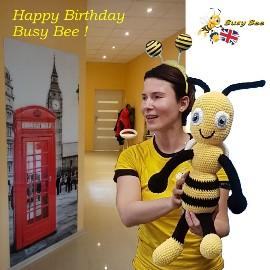 Język angielski Oświęcim - Pierwsza rocznica Busy Bee w Oświęcimiu !