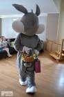 Chodząca maskotka Zając Wielkanocny do domu / Atrakcja dla dzieci