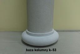 baza kolumny styropianowa pokrywana k-53 średnica 31cm