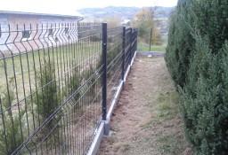 Panel ogrodzeniowy 3D 153x250cm ocynk + kolor z montażem